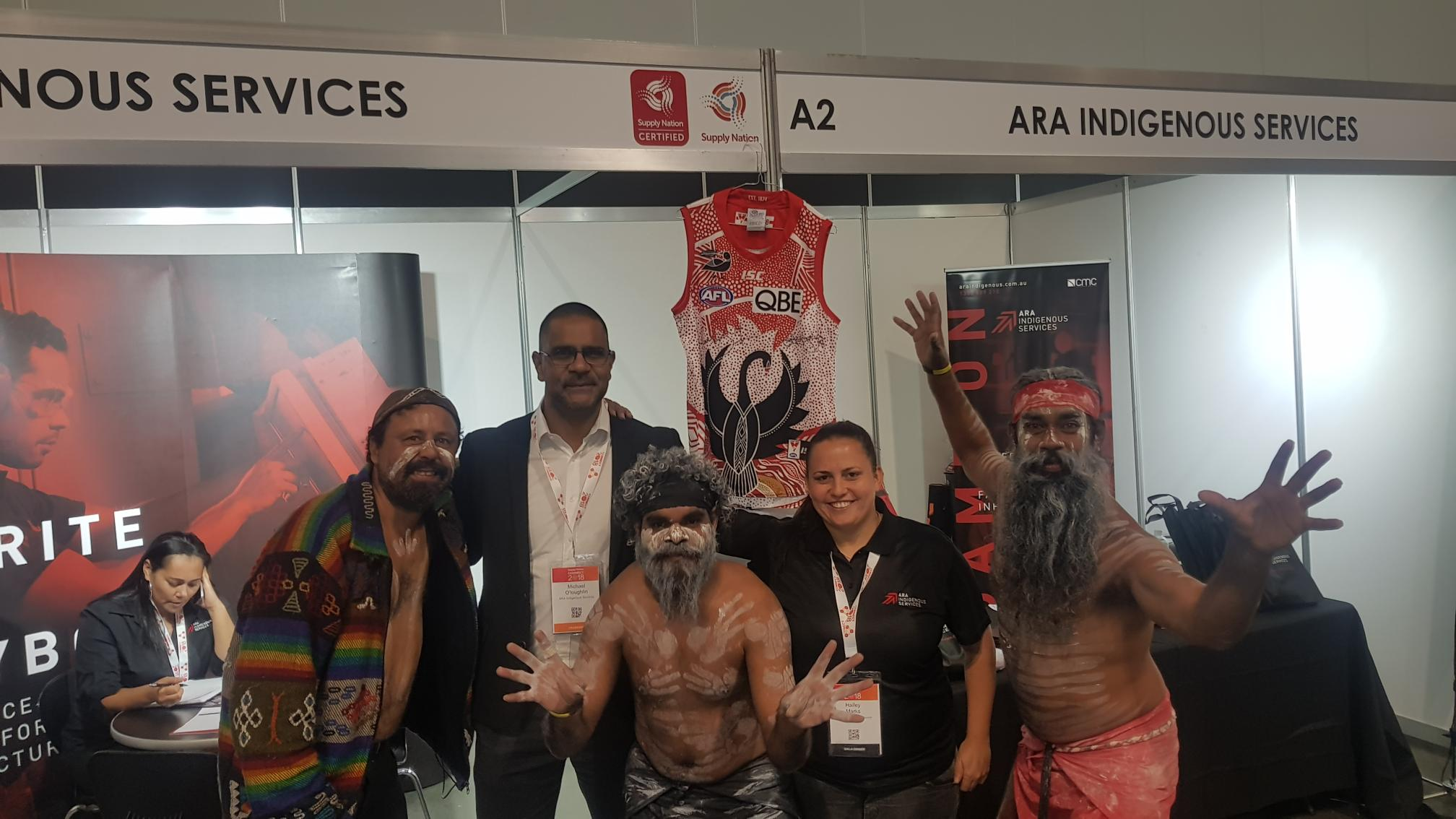 ARA Indigenous Services - Supply Nation Connect Tradeshow 2018
